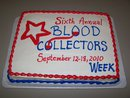Happy Blood Collector's Week